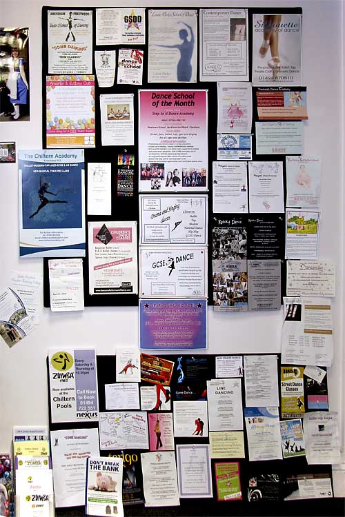 Customers are always having a look at our dance schools and adults dance classes listing board within Dancers Boutique for all the latest happenings.