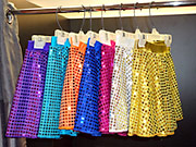 Sequin skirts in many colours for dressing up outfits, disco outfits and party clothes