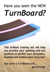 The TurnBoard for sale in the UK, now available at Dancers Boutique. Same day delivery available. Get your dance products direct from Dancers Boutique. 01494 727211