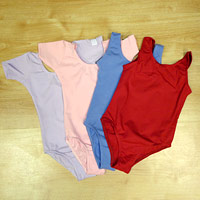 Ballet Uniform leotards in lilac and pink for ISTD and RAD Ballet Classes.
