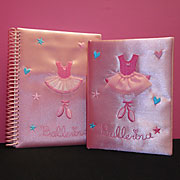 Ballet notepads for dancers.