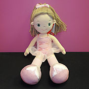 Christmas gifts such as dolls for dancers.