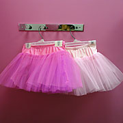 Little girls love tutus!