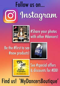 Dancers Boutique is now on Instagram. Find us and follow us... MyDancersBoutique.