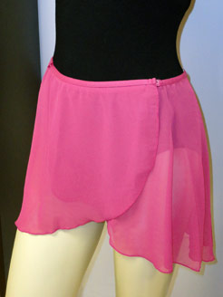 Adult dancewear skirts.
