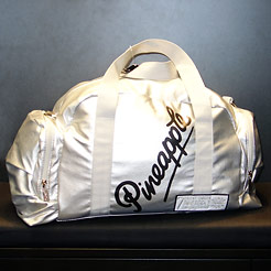 Silver Pineapple dance bag.