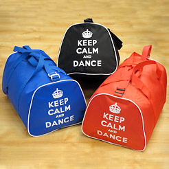 Keep calm and dance bags, boys dance bag, bags for boys