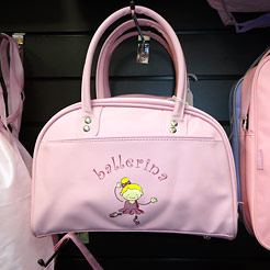 Girls ballet bag.