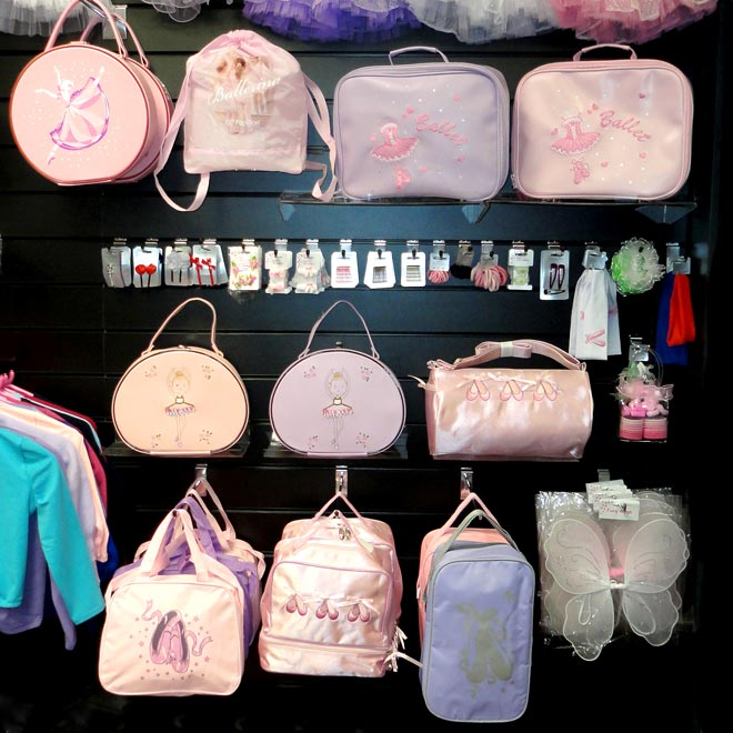 dance bags, ballet bags, gilrs ballet bags, bags for boys.