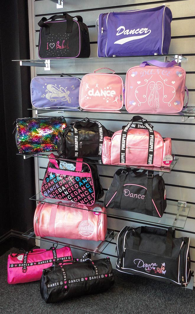 Shop Local for Dance Bags in the UK including Large dance bags, Small dance bags, Ballet bags, Girls ballet bags, Dance bags for boys.