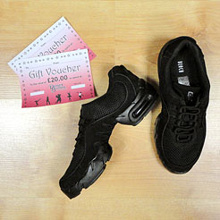 Gifts for Dancers UK Shop Local for dance trainers, Bloch dance trainers, black dance shoes, practice dance shoes, jazz trainers.