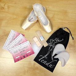 Gifts for Dancers UK Shop Local for pointe shoes, pointe shoe bags, grishko pointe shoes, pointe shoe accessories, gifts for ballet dancers, pointe shoe gifts