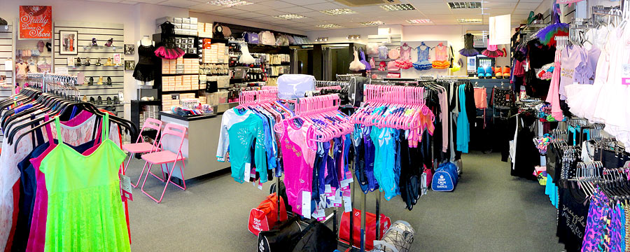 Looking for the UK's 'Best Dance Shop', 'Dancewear near me' or your 'Local Dance Shop near me'? We are Dancers Boutique and we look forward to seeing you soon to be part of you dance adventure! Dancers Boutique has become renowned for its excellent customer service and huge range of quality dancewear. Come in and see our brand new gym leotards, ballet uniform, baby ballet wear for toddlers, dance bags, Bloch and Pineapple collections for the new term - there's always something new at Dancers Boutique.
